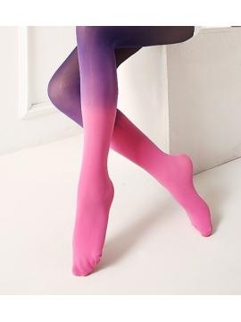 Pereinančių spalvų pėdkelnės mergaitėms