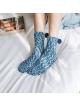 Šiltos kalėdinės kojinės - keksiukai