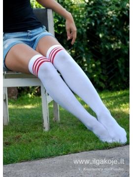 """Kojinės virš kelių """"Ladies Athletic Socks"""""""